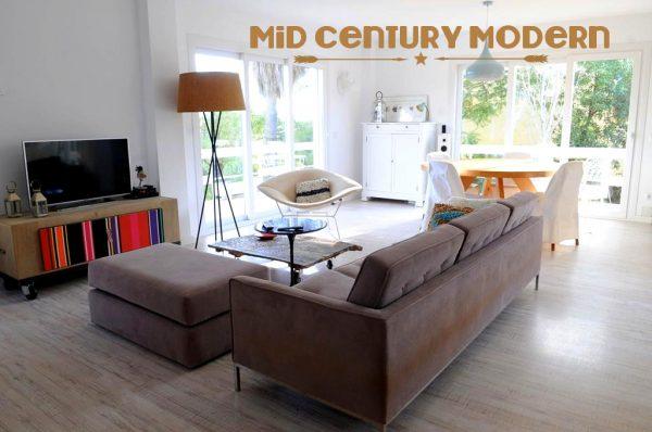 """diseño 600x398 - Todo lo que debes saber del estilo decorativo """"Mid-Century Modern"""""""
