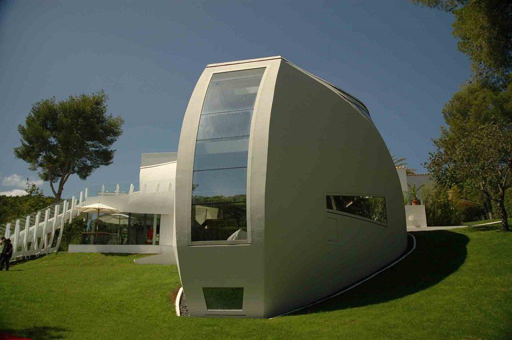 diseño exterior 1024x681 - Espectacular casa llena de originalidad y diseño en Son Vida, Palma de Mallorca