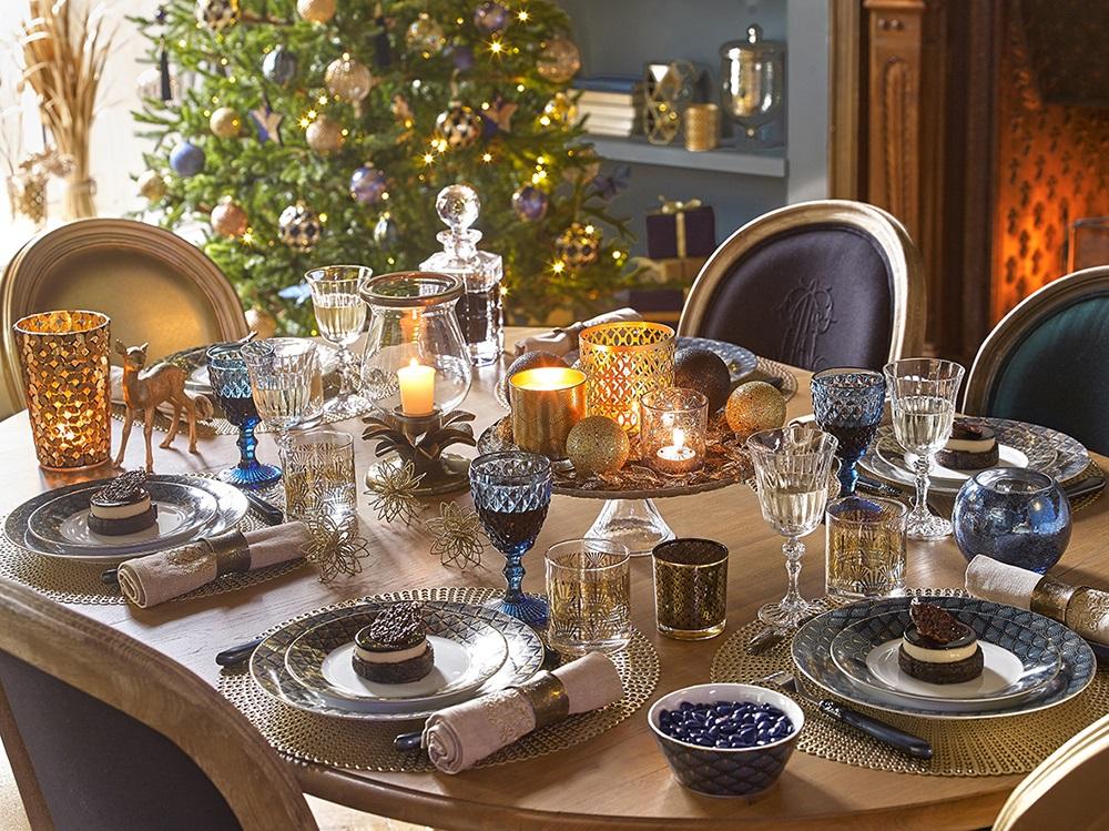 doradoyazul MaisonduMonde - Feliz Navidad en fantásticas mesas de Nochebuena perfectas para disfrutar :) Felices Fiestas