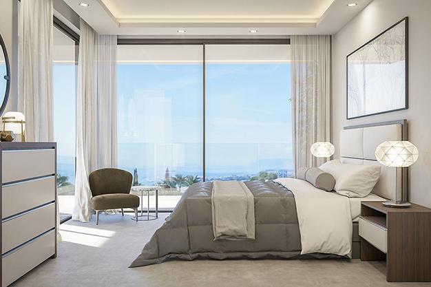 dormitorio 1 5 - Villa de lujo en Málaga: diseño moderno con vistas al Mar Mediterráneo