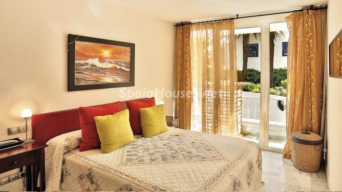dormitorio 1 - Precioso apartamento con decoración elegante y serena junto al mar en Marbella