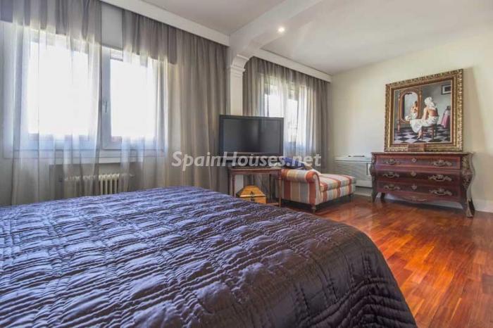 dormitorio 12 - Elegante, amplio y luminoso ático con vistas a todo el skyline de Madrid en Chamartín
