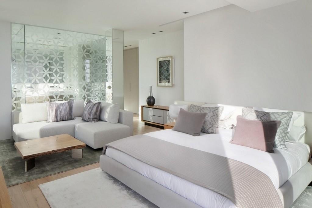 dormitorio 14 1024x682 - Espectacular y moderna villa en Roca LLisa (Ibiza): sereno minimalismo con vistas