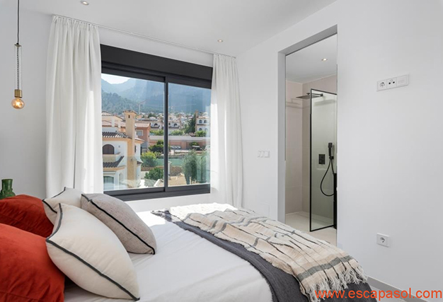 dormitorio 2 1 - Villa de lujo en Alicante: luminosa y muy espaciosa