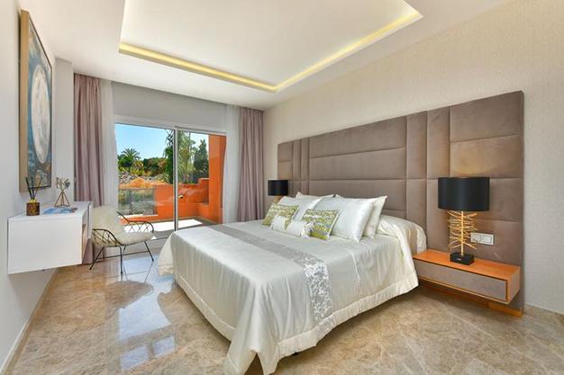 dormitorio 2 apartamento marbella - Lujoso apartamento en el centro de Marbella, a 5 minutos de Puerto Banús