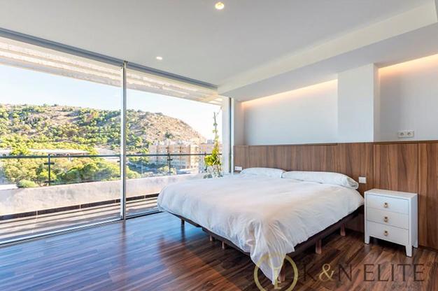 dormitorio 2 atico cerca de la playa en Alicante - Espectacular ático cerca de la playa en Alicante: mar y montaña al alcance de tus ojos
