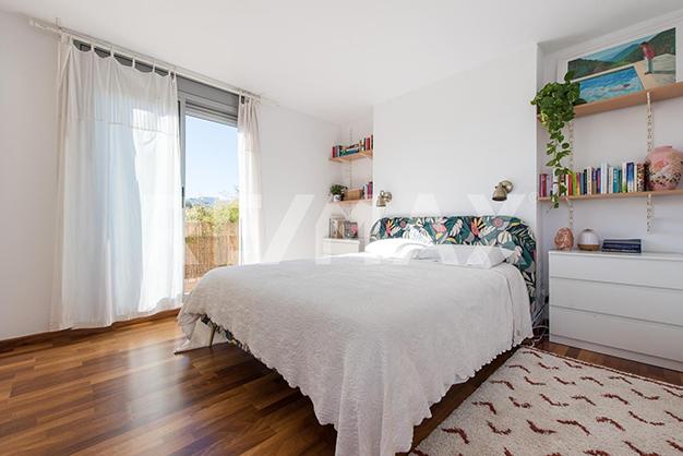 dormitorio 2 ibiza sta eulalia - Dúplex de lujo junto al mar en Ibiza: vanguardia y naturaleza en un espacio único