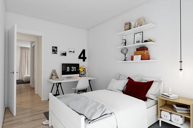 dormitorio 2 malaga - Este piso de lujo en Málaga te atrapará por su diseño moderno y atractivo