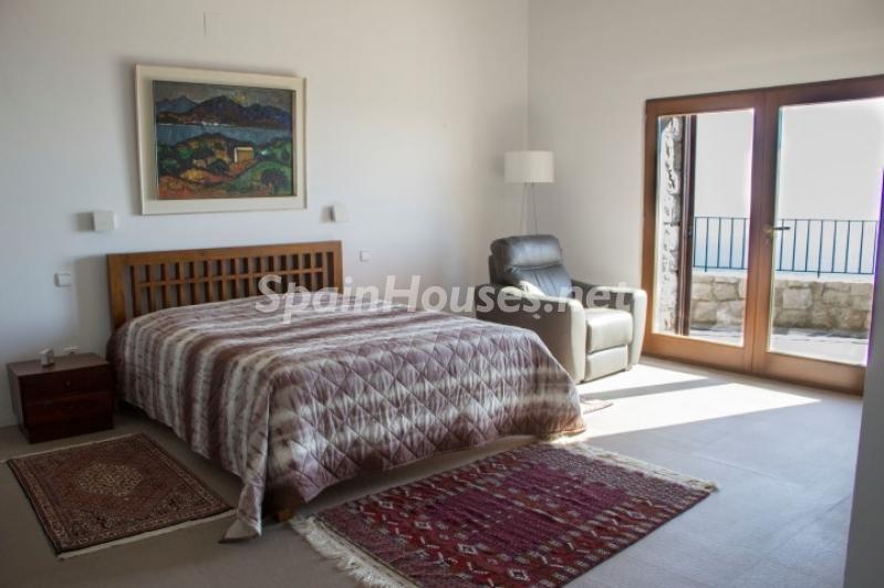 dormitorio 20 - Lujosa casa vestida de piedra en Benitachell (Costa Blanca) con vistas panorámicas al mar