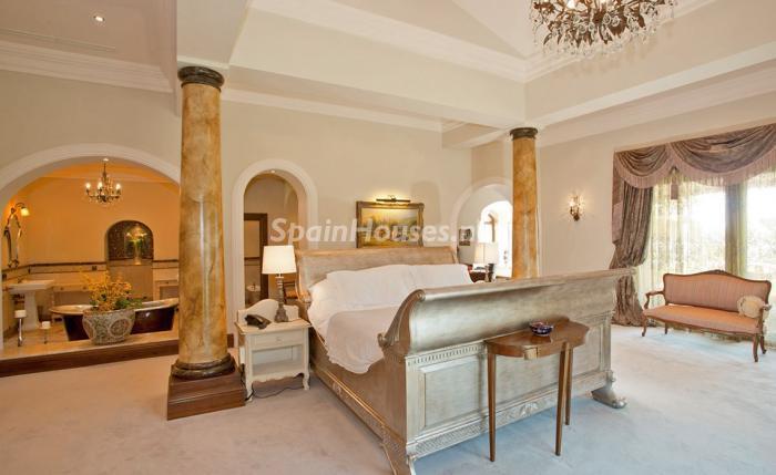 dormitorio 21 - Espectacular villa llena de romanticismo, elegancia y lujo en Benahavís (Costa del Sol)