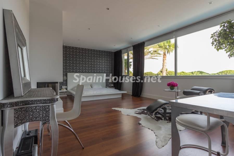 dormitorio 22 - Chalet de diseño en Chiclana de la Frontera (Cádiz) entre pinos, golf y la playa de La Barrosa