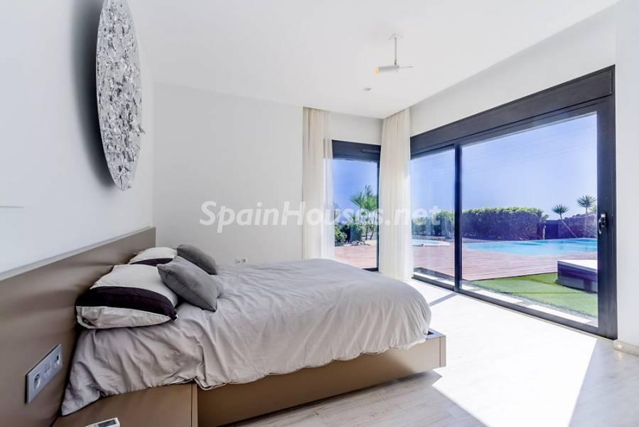 dormitorio 24 - Fantástica casa de diseño moderno en Monte León, San Bartolomé de Tirajana (Las Palmas)