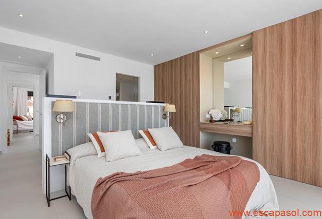 dormitorio 3 1 - Villa de lujo en Alicante: luminosa y muy espaciosa