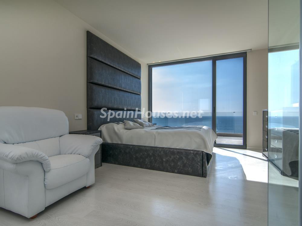 dormitorio 32 - Casa minimalista transparente, diáfana y abierta al mar en Castelldefels (Barcelona)