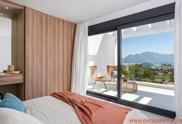 dormitorio 4 1 - Villa de lujo en Alicante: luminosa y muy espaciosa