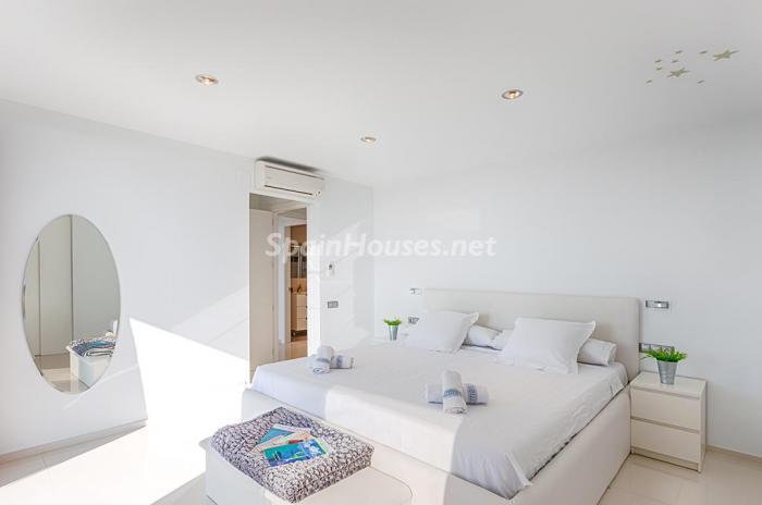dormitorio 4 - Blanca y sofisticada villa de vacaciones en Moraira (Costa Blanca): luz y diseño frente al mar