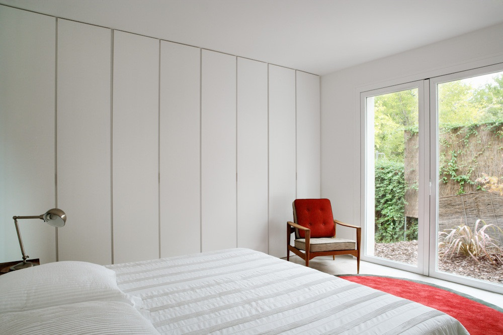 dormitorio 41 - Diseño contemporáneo y luz otoñal en una preciosa casa en Madrid