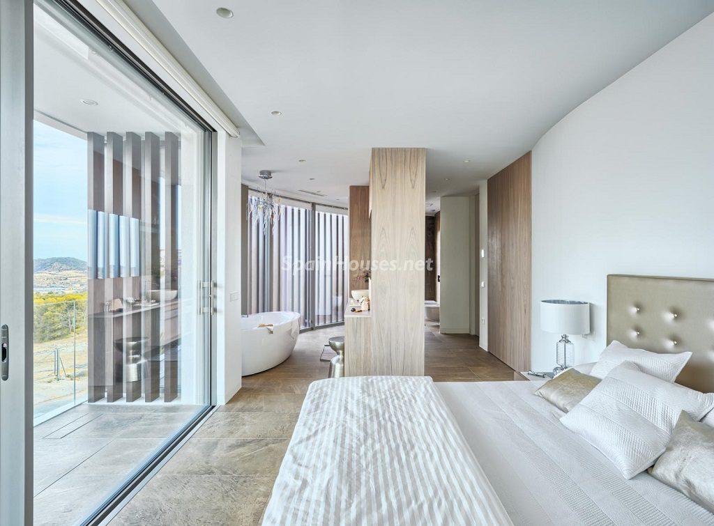 dormitorio 43 1024x755 - Diseño contemporáneo a estrenar en una fantástica villa en Finestrat (Costa Blanca, Alicante)