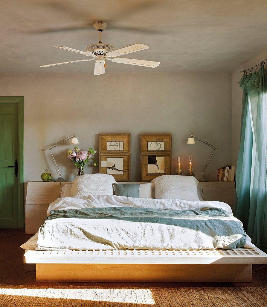 dormitorio 48 893x1024 - Cálida serenidad en perfecta armonía con el mar en Costa Brava (Girona)