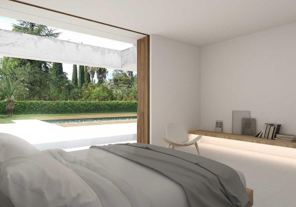 dormitorio 57 1024x716 - En La Cañada, casa contemporánea y minimalista a 5 km de Valencia