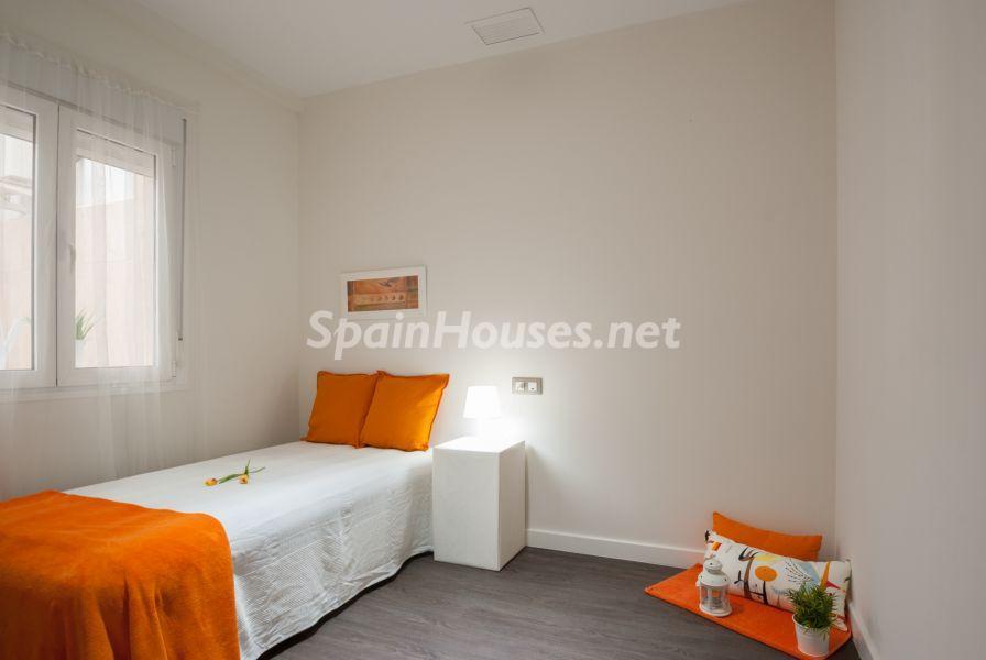 dormitorio 58 - Home Staging de detalles cálidos en un bonito piso reformado en Cádiz capital