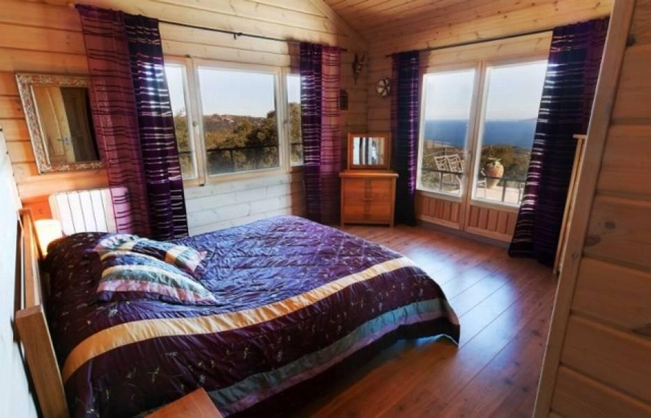 dormitorio 68 - Sobre dos mares: Toque escandinavo en una casa de madera en Tarifa (Cádiz)