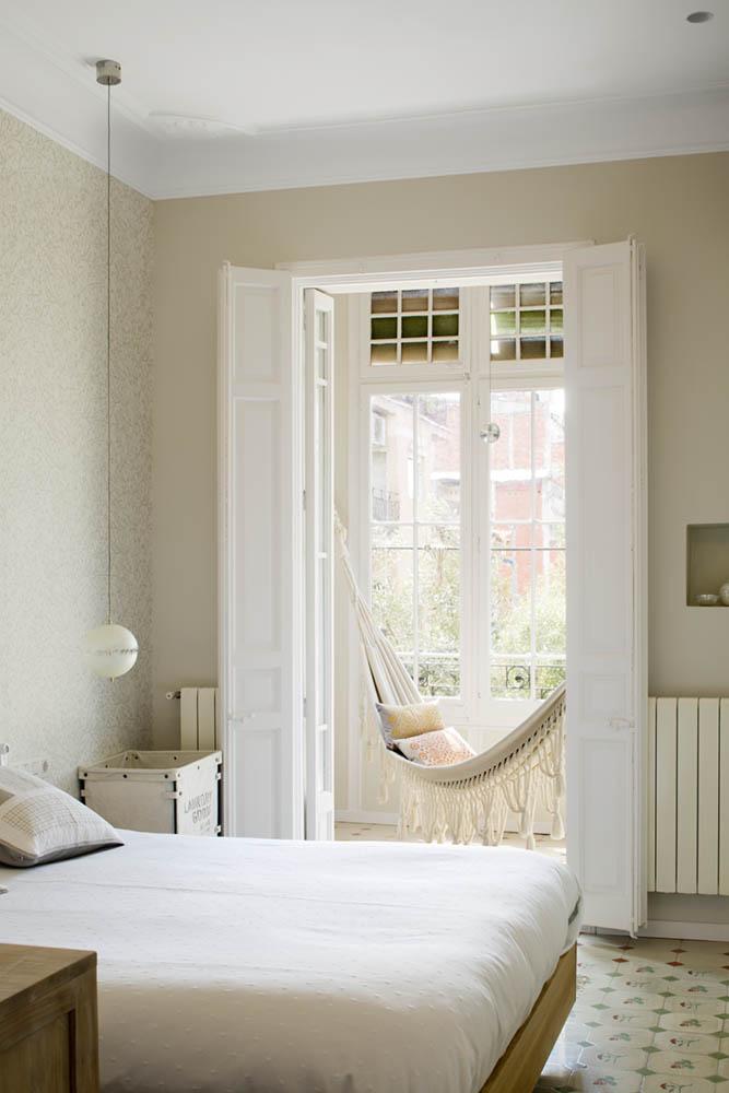 """dormitorio 81 - Toque """"Art Novou"""" con jardín en una elegante casa modernista en Barcelona"""