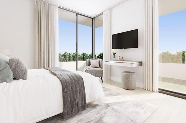 dormitorio 93 - Espectacular chalet adosado en Fuengirola: altas calidades, terrazas y jardín