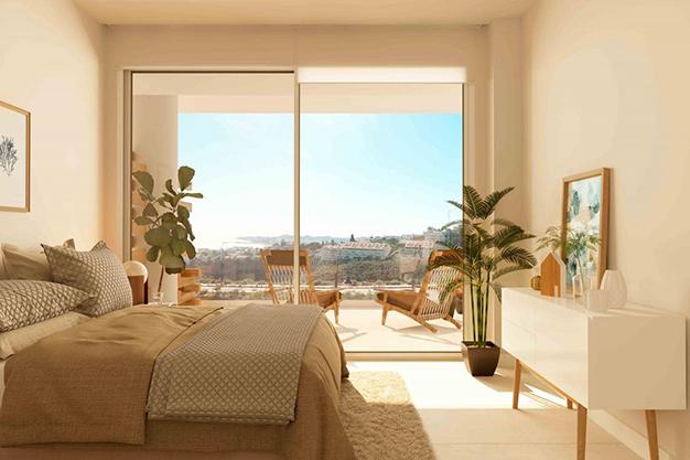 dormitorio casa de lujo málaga - Lujoso apartamento en la Costa del Sol para comenzar una nueva vida