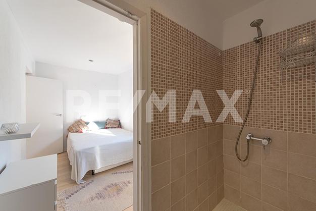 dormitorio en suite ibiza sta eulalia - Dúplex de lujo junto al mar en Ibiza: vanguardia y naturaleza en un espacio único