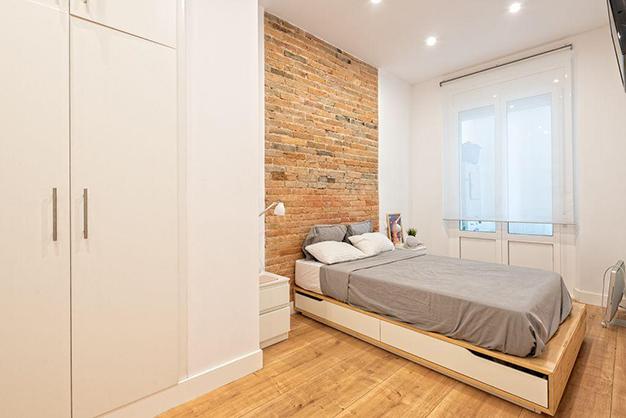 dormitorio piso centro barcelona - Piso en el centro histórico de Barcelona: diseño y lujo para disfrutar de la Ciutat Vella