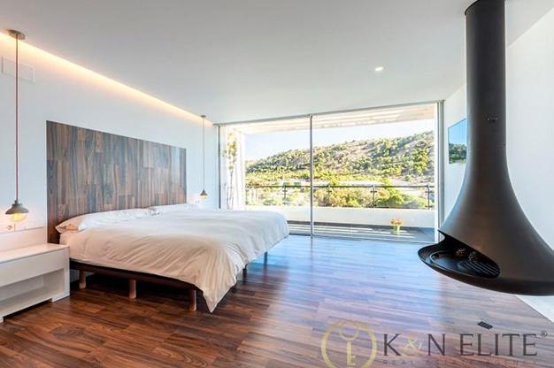 dormitorio principal atico cerca de la playa en Alicante - Espectacular ático cerca de la playa en Alicante: mar y montaña al alcance de tus ojos