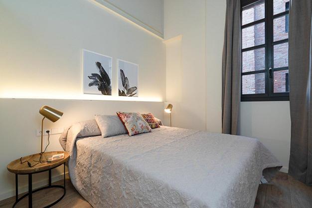 dormitorio raval - Moderno apartamento en el centro de Barcelona para los que buscan un estilo único