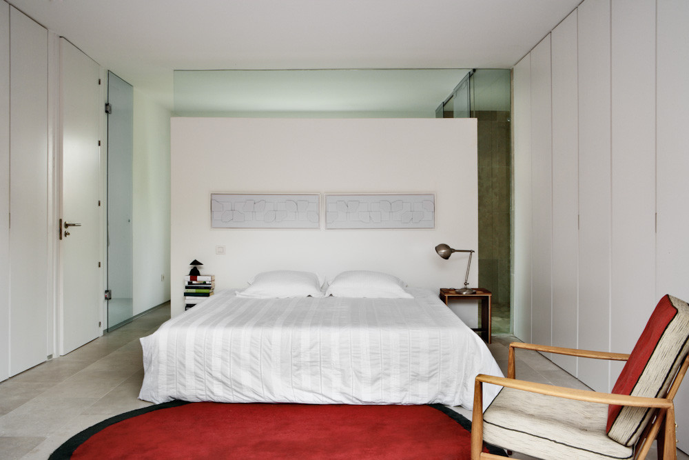 dormitorio1 28 - Diseño contemporáneo y luz otoñal en una preciosa casa en Madrid