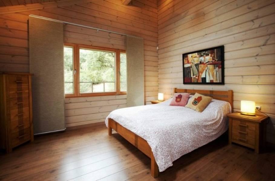 dormitorio1 48 - Sobre dos mares: Toque escandinavo en una casa de madera en Tarifa (Cádiz)