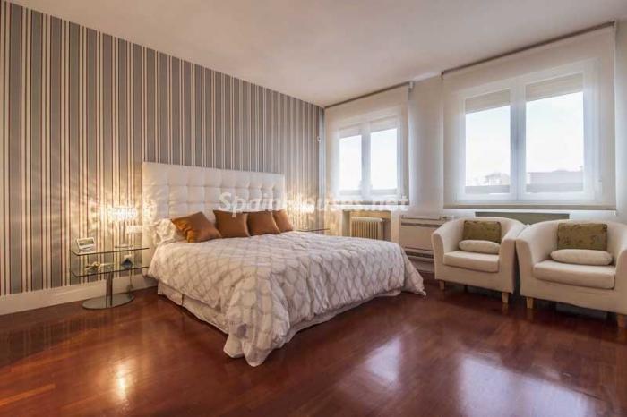 dormitorio1 6 - Elegante, amplio y luminoso ático con vistas a todo el skyline de Madrid en Chamartín
