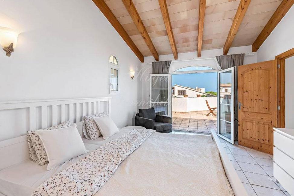 dormitorio1 69 - Maravillosa villa de estilo mallorquín: gran privacidad junto a la costa