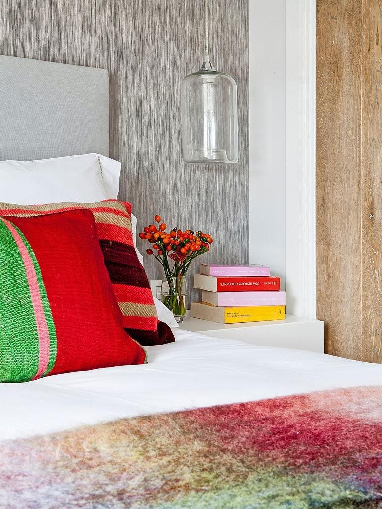 """dormitorio1 768x1024 - Toque """"trendy"""" en Madrid, en un precioso loft cálido, femenino y moderno"""
