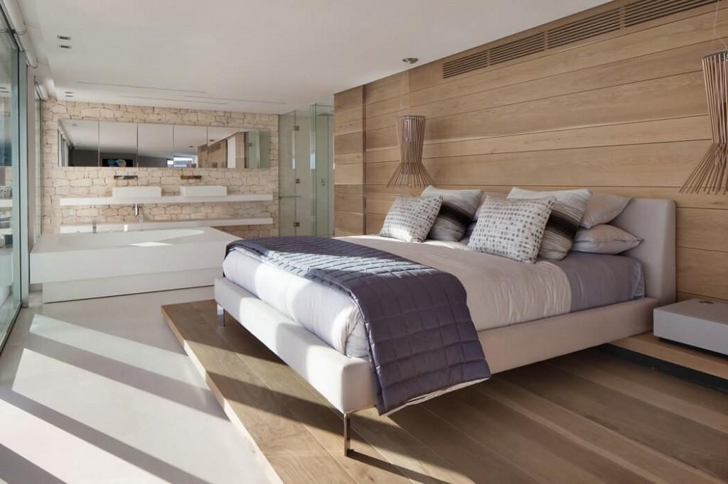 dormitorio1 9 1024x682 - Espectacular y moderna villa en Roca LLisa (Ibiza): sereno minimalismo con vistas