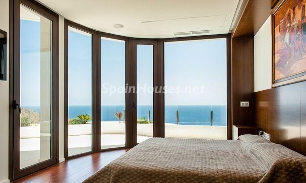 dormitorio1 - Casa de la Semana: Espectacular villa de diseño en Benidorm, Costa Blanca