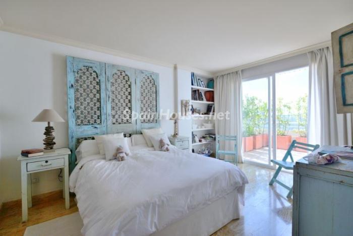 dormitorio10 - Casa de la Semana: Precioso ático de lujo en Marina Botafoch, Ibiza