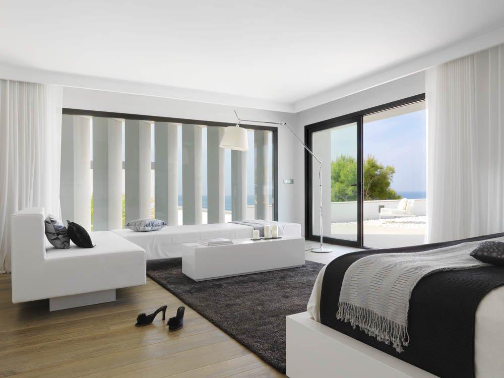 dormitorio122 - Puro blanco sobre el mar en una espectacular casa en Almuñécar (Costa Tropical, Granada)