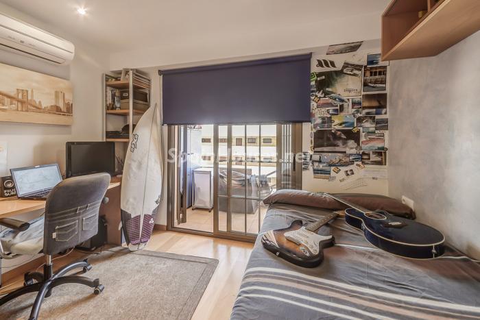 dormitorio123 - Coqueto piso dúplex en primera línea de mar en Cala Viñas, Calvià (Mallorca, Baleares)