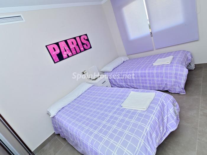 dormitorio127 - Vacaciones en playa de Las Marinas, Dénia (Costa Blanca) con vistas panorámicas al mar