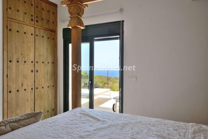 dormitorio128 - Fantástica villa en Cala Vadella (San José, Ibiza): blanca, luminosa y mediterránea