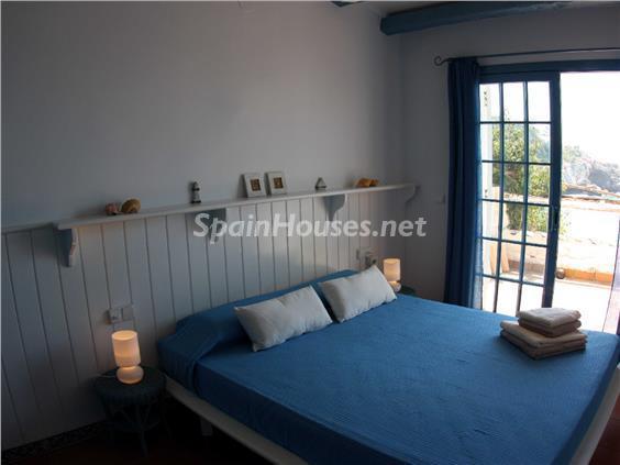 dormitorio14 - Casa de la Semana: Bonito adosado en primera línea de mar en Cala Crancs, Salou (Tarragona)