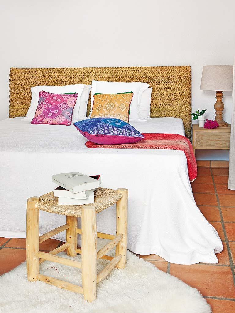 dormitorio1b - Fantástica casa luminosa y natural en Jávea (Costa Blanca), llena de color y toques étnicos