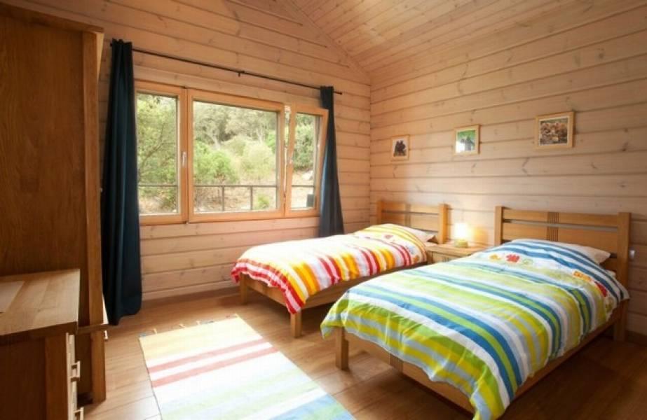 dormitorio2 18 - Sobre dos mares: Toque escandinavo en una casa de madera en Tarifa (Cádiz)