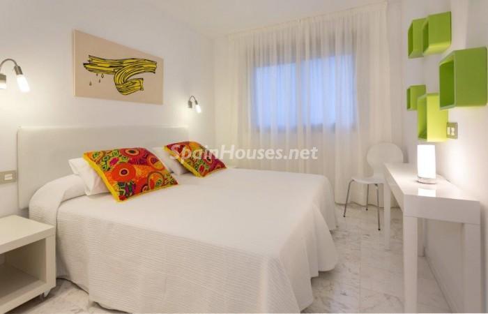 dormitorio20 - Fantástico ático de vacaciones en Playa D'en Bossa, Ibiza (Baleares)