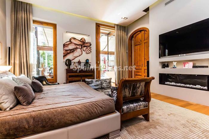 dormitorio210 - Precioso piso lleno de detalles, elegancia y lujo en el Eixample de Barcelona